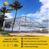 200 personnes de la capacité de Mariage de Claire tente dans l'île Maurice