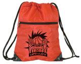学校ポリエステルドローストリング袋に戻って、スポーツ袋