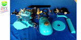 Cdh 2 Blau-Farbe der Anfall-bunte Motor-Installationssatz-80cc