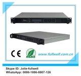 Fullwell FTTX 1u Triplice-Play 4 Ports Pon + Wdm EDFA/1550nm Pon EDFA Amplifier (FWAP-1550T -4X19) di CATV