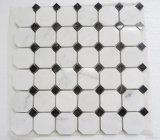 Venta al por mayor Blanco / Negro / Oro / Grey Basalto / Pizarra / Shell / Granito / Vidrio / Travertino / Limstone / Mosaico de piedra Mosaico de mármol