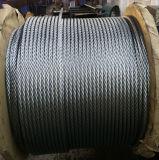 6X37 стальная проволока оцинкованного каната 12мм