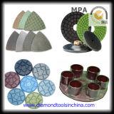 Tampon de polissage de diamants de qualité supérieure pour le verre de Marbre Granit