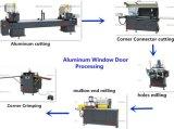 Il doppio taglio capo del blocco per grafici di finestra di alluminio di Bohman ha veduto la macchina