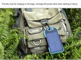 Портативное большой емкости безопасное и реальное солнечное экстренный выпуск заряжателя 5000mAh для напольного