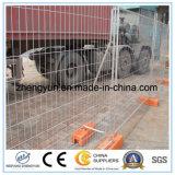 Frontière de sécurité provisoire de sûreté résidentielle d'événement de construction/clôture provisoire