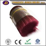 Organisches Haar-Material des Chemiefasergewebe-PBT, verwendet worden für die Herstellung des Pinsel-Haares