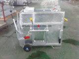 Rectángulo galvanizado equipo móvil del becerro del ganado