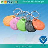 Impression de logo T5577 125kHz porte-clés de la RFID