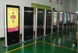 55/65/75/84pulgadas de alta postura clara Publicidad Publicidad LCD resistente al agua