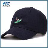 カスタムお父さんの帽子ストラップの背部6パネルの綿のHip Hopの帽子