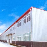 Gruppo di lavoro prefabbricato del magazzino del pannello a sandwich della struttura d'acciaio