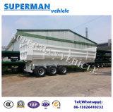 U-vorm Aanhangwagen van de Vrachtwagen van de Kipwagen van de Lading van de Aanhangwagen van de Kipper de Semi voor Verkoop