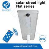 éclairage LED solaire d'admission de détecteur de mouvement de lumière de route de 30W DEL