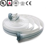 8 pulgadas de PVC Revestimiento de Doble Manguera de incendio orientadas a la exportación de la chaqueta