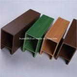 Madeira de boa qualidade padrão tecto composto de plástico