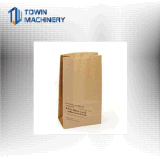Roulis alimentant le sac de papier inférieur carré faisant le sac à provisions de machine