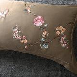 Conjunto de tampa edredões de luxo europeu Algodão Sateen colcha da cama de cobertura definida