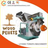 Constructeur en bois de machine de granulatoire de boulette de double rouleau