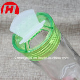 زجاجيّة تابل مرطبان لأنّ ملح فلفل مع رجّاجة بلاستيكيّة