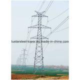 500kv 220kvによって電流を通される送電ライン鋼鉄タワー力タワー