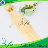 Extensão natural humana do cabelo do Virgin do cabelo de 100%