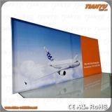 Publicidad Textil de portátiles de pantalla de aluminio marco