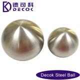 Cumple 0,35 a 200 mm bolas de acero de 51 mm cepillado Jardín contempló la decoración de bola de acero inoxidable