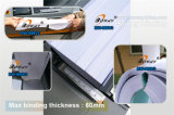 450book/Hour uma vez e Dual duas vezes papel de máquina quente de trituração do emperramento do livro da colagem do derretimento da modalidade da espinha