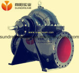 Pompe centrifuge de cas fendu de double aspiration d'étape simple