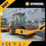 Image de marque chinoise 16 tonne 125kw rouleau vibratoire totalement hydraulique de la route