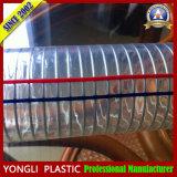 Fil d'acier en PVC flexible/PVC flexible spiralé métallique en acier/PVC flexible d'aspiration