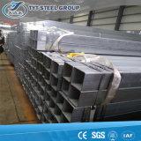 Tube carré galvanisé normal de grand dos de pipe des BS 1387 de fournisseur de la Chine