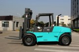 Высокое качество и лучшая цена 8 тонн вилочный погрузчик с дизельного двигателя Isuzu