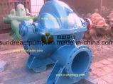 Bomba de agua centrífuga diesel y eléctrica de la lucha contra el fuego de la succión del final de la circulación