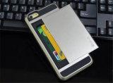 Colorida Tarjeta deslizante Teléfono Teléfono de la armadura caso cubierta para el iPhone7