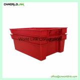 Food Grade y contenedor de plástico apilables encajables de frutas