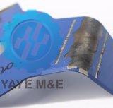 Лезвие 2-Зубов Yaye серебряное для резца щетки (YB230520254R)