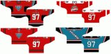 Customized Homens Mulheres Crianças Liga de Hóquei Ocidental 2002-2011 Kelowna Rockets Suplente Hóquei no Gelo Jersey
