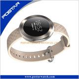 Montre à la manche ronde à la marque célèbre avec Smart Swatchful Silicone Band