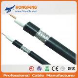 75 коаксиальный кабель экрана CATV RF RG6 стандарта радиосвязи ома