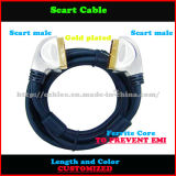 100% geprüftes kundenspezifisches Scart Kabel (SY033)