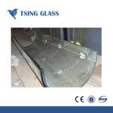 aangemaakte Glas van het Gehard glas van 319mm het Vlakke Gebogen Veiligheid