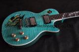Snake Fingerboard Inlay Lp guitarra eléctrica na cor azul (BPL-524)
