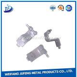 Précision électronique faite sur commande en métal de machines estampant la partie avec le placage de zinc