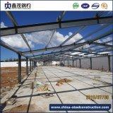 Juego completo muebles prefabricados de estructura de acero para construcción de almacén
