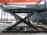 Estação de Metro de alta qualidade carro elevador de tesoura Plataforma Hidráulica