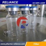 Los frascos estériles de vidrio automática Máquina de Llenado engastado