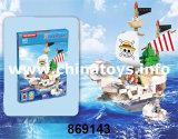Brinquedos educativos, brinquedos de bricolage plástico Buklding Bloco (869143)