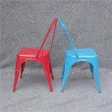 Venta al por mayor azul Silla Tolix silla de metal para la boda y de comedor (YC-ZG97)